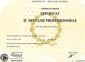 Certificat-pro